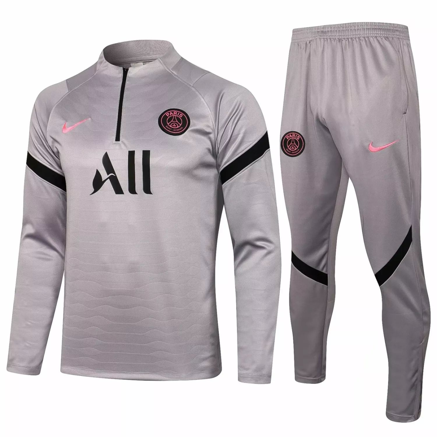 "PSG - SILVER-PINK ""Training Suit"" – 2021-22"